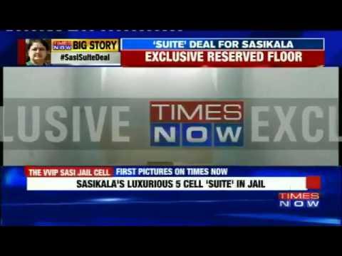 Mafia Sasikala 5 Star suits in Bangalore jail.