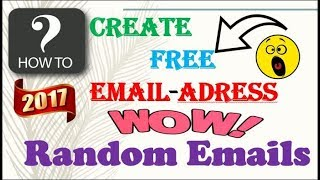 How To Create a Free Email Address Without Phone Number- new free email service Without Registering