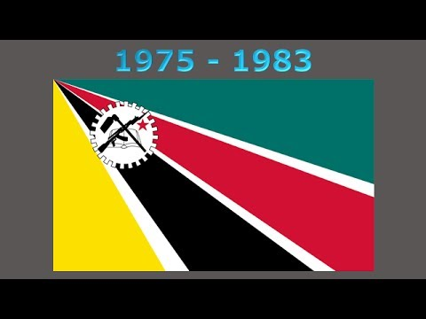 History of the Mozambique flag