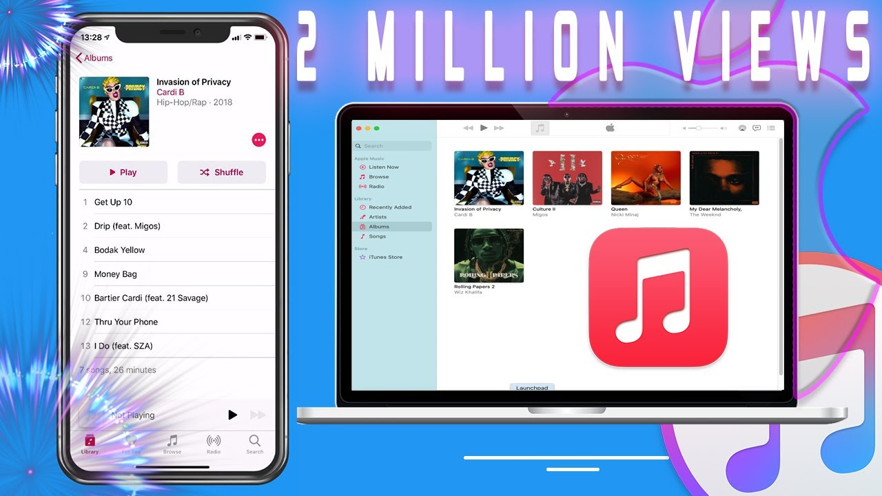 How to transfer song from itunes laptop to iphone