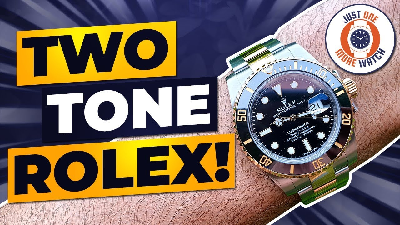 Two Tone Rolex Submariner 116613ln Review
