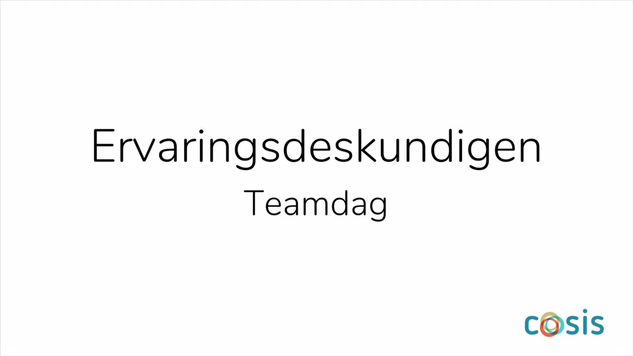 Aftermovie Teamdag ervaringsdeskundigen