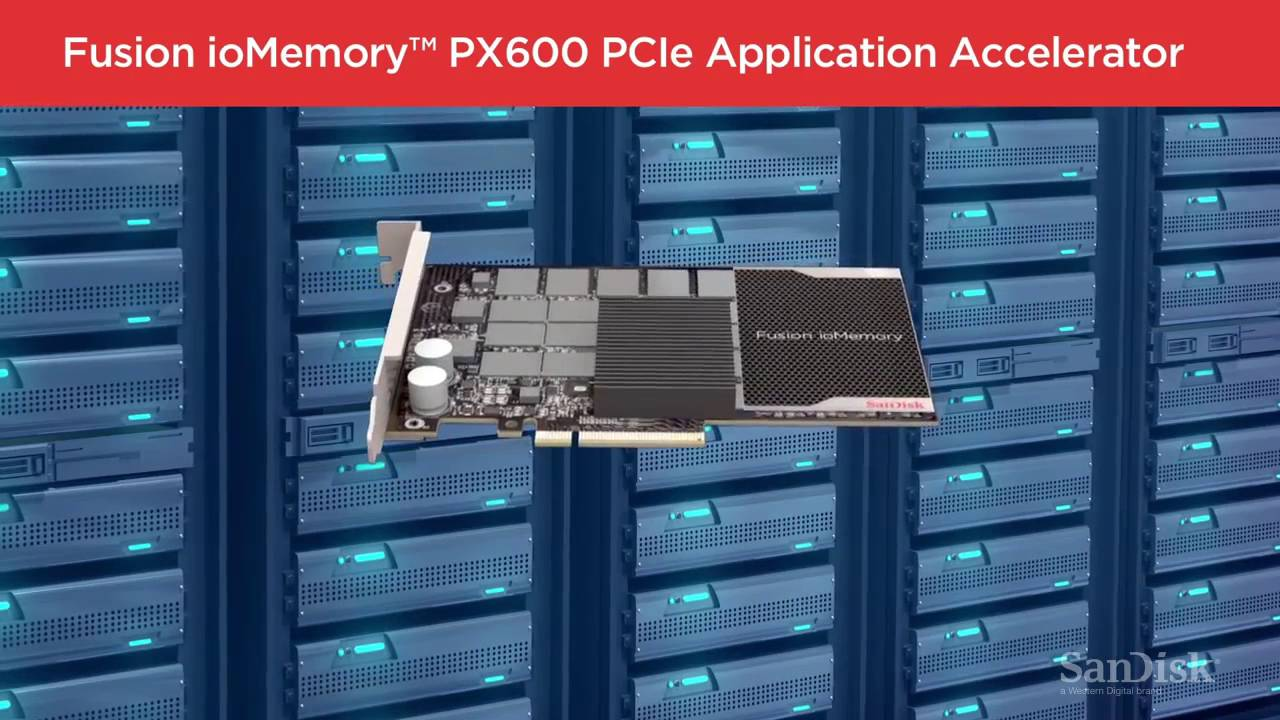 The New Fusion ioMemory™ PCIe Card and Mezzanine Application Accelerators