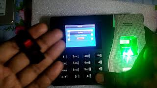 Biometric Fingerprint Time Attendance System Operation Manual K14, K20