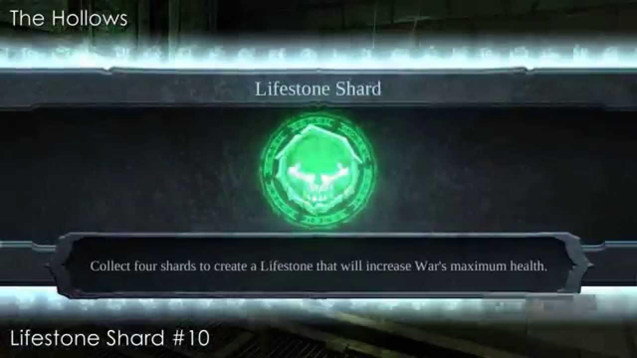 & Bonus - Darksiders ( All Lifestone Shards Location ) - YouTube