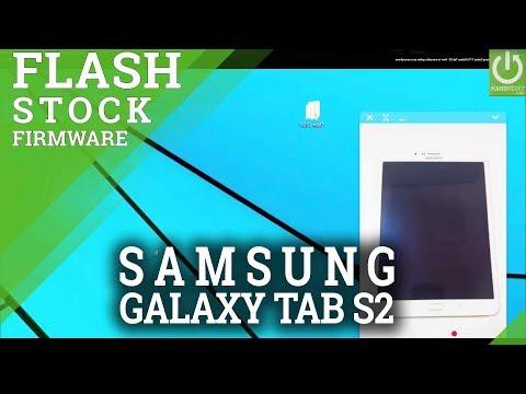 Flash stock firmware in Samsung Galaxy T715 Galaxy Tab S2