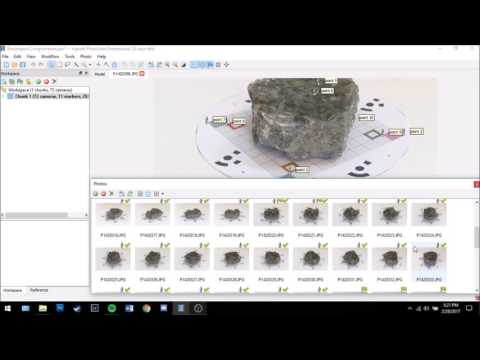 Agisoft Photoscan Workflow Tutorial