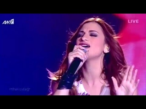 Άννα Βιλανίδη - My Kind of love   The Voice of Greece - 2nd Live Show (S02E14)