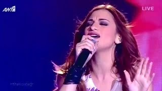 Άννα Βιλανίδη - My Kind of love | The Voice of Greece - 2nd Live Show (S02E14)