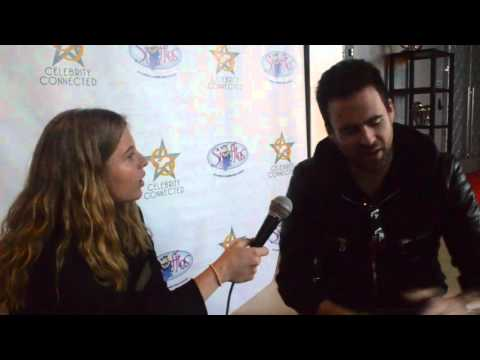 EDM Producer Gareth Emery Interview at Celeb Connected AMA Gifting Suite