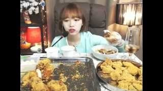 슈기의 먹방 shoogi s eating show mukbang bhc 뿌링클치킨