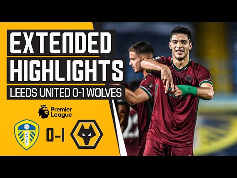 Saiss stunner disallowed, but Raul delivers! | Leeds United 0-1 Wolves | Extended Highlights