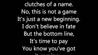30 Seconds To Mars - Escape (Lyrics)