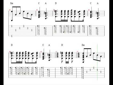 Metallica Nothing Else Matters . Easy Guitar Lesson DOWNLOAD NOTES ...
