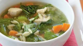 Chicken Orzo Soup Recipe