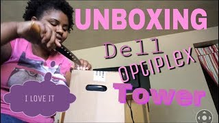 (UNBOXING) Dell Optiplex 760 Tower Desktop PC With Windows 10