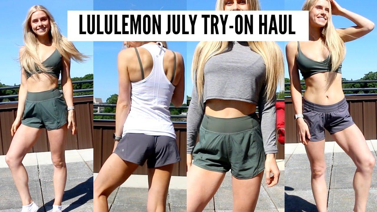 d04da88474f Lululemon July Haul & Try On - YouTube