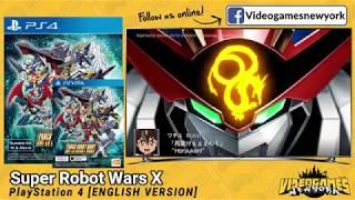 Super Robot Wars X [ENGLISH VERSION] - VGNY IMPORT TRAILER