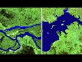 Before-And-After Satellite Images of Earth from Space