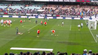 Real Madrid Training  Melbourne