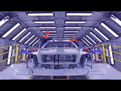 CAR FACTORY: Volvo Cars Manufacturing in China