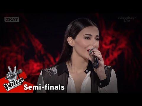 Χριστοδούλα Τσαγγαρά - Κόψε και μοίρασε | 1ος Ημιτελικός | The Voice of Greece