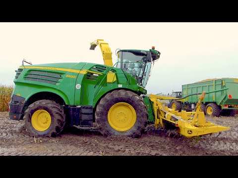 NEW John Deere 8600i Self-Propeld Forage Harvester
