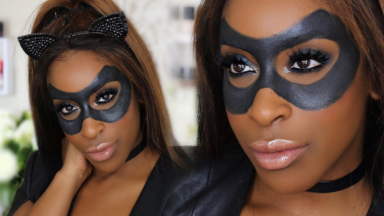 Easy Diy Sexy Catwoman Halloween Makeup