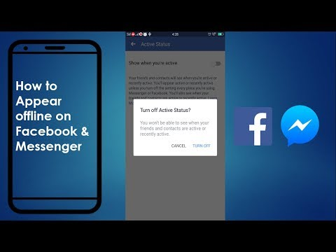 How To Appear Offline On Facebook And Messenger Both On Mobile 2019 | Latest Updates