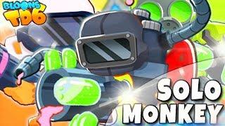 Solo Monkey   Glue Gunner    Bloons TD6 PL