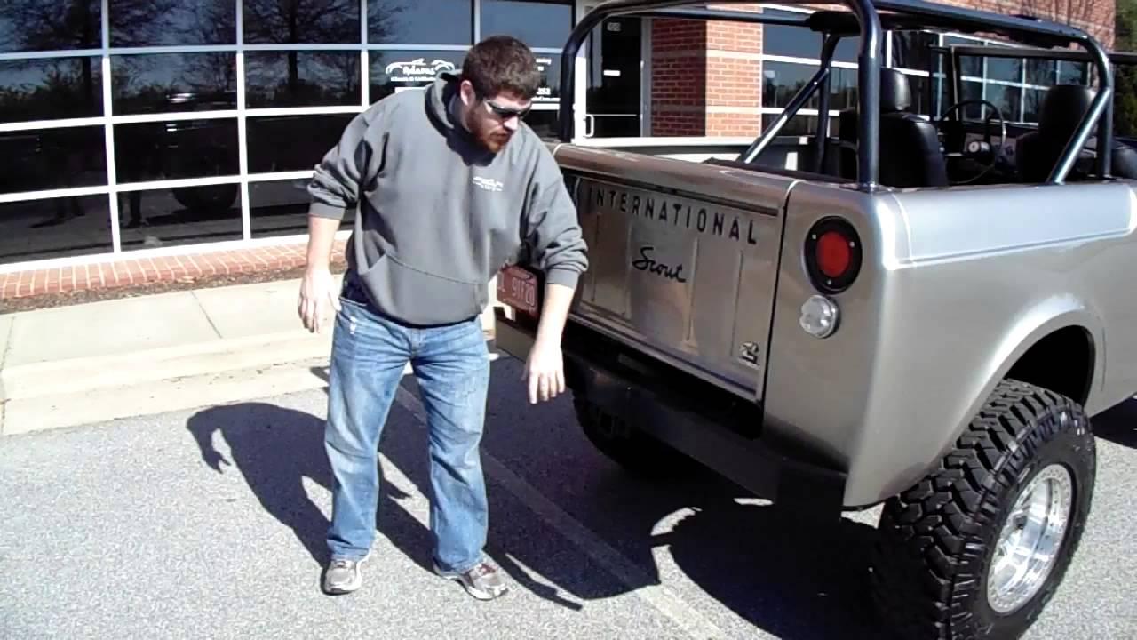1966 International Scout Cummins Diesel