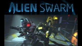 Alien Swarm : Reactive Drop | 5-Man Team Part 2 :D