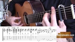 Flamenco Guitar Lesson w/ TABS | Buleria Falseta 7 | Diego de Oro