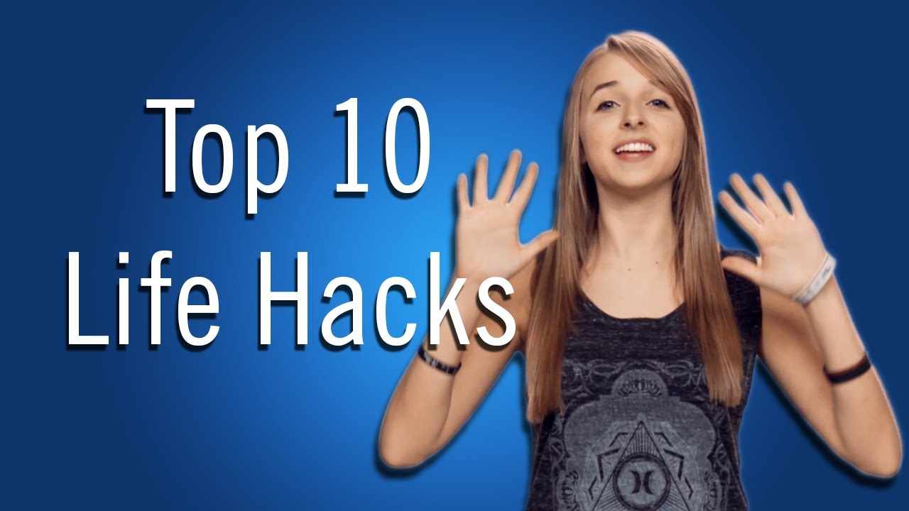 jennxpenn 39 s top 10 life hacks youtube. Black Bedroom Furniture Sets. Home Design Ideas