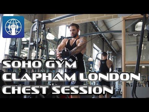 Soho Gym | Clapham London | Chest session