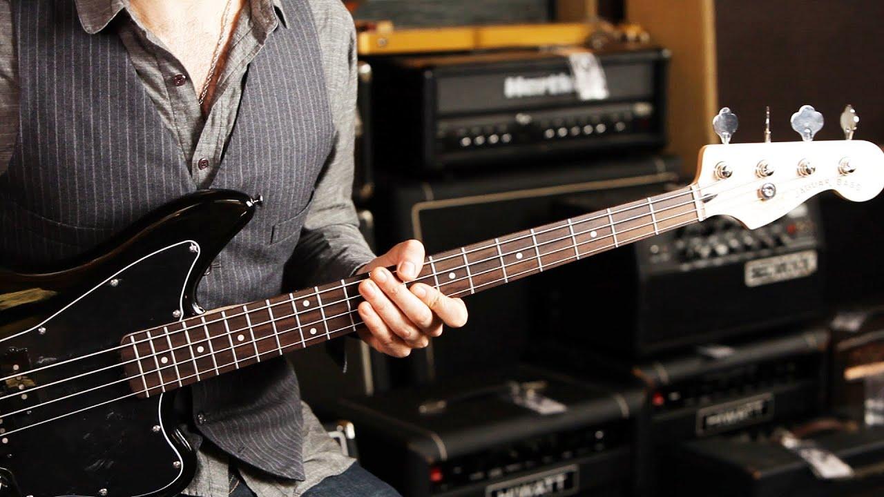 Vintage modified jaguar® bass special ss (short scale) | squier.