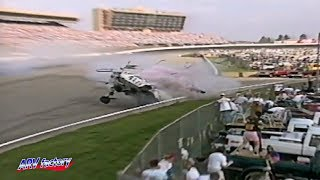 Steve Grissom Big Crash1997 Primestar 500