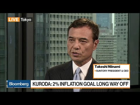 Suntory's CEO on Japan Election, Sales Tax, Inflation