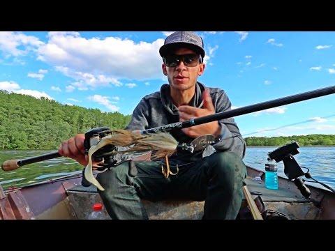 [Muskie Confirmed In Burke Lake] Testing New Baits & Rod! Muskie Hunt XV