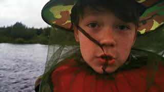 Путешествие к Вял озеру глухомань рыбалка часть 2