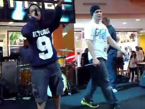 8 ball dan All star hip hop indo adu freestyle di Block Battle Ex Plaza