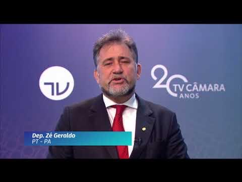 20 Anos TV Câmara: deputado Zé Geraldo (PT-PA)