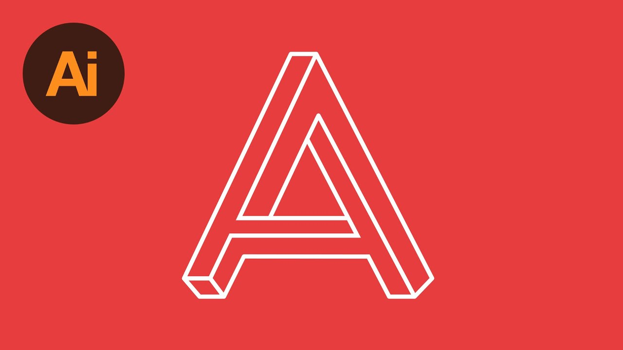 Learn how to draw a letter logo in adobe illustrator dansky learn how to draw a letter logo in adobe illustrator dansky youtube altavistaventures Gallery
