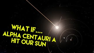 What if.... Alpha Centauri A hit our Sun