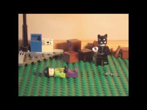 Lego Catwoman Attack