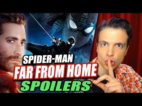 SPOILERS de SPIDER-MAN Far From Home / Lejos de Casa - Escenas Post-Créditos de la Película y Más
