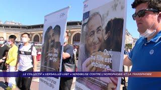 """Yvelines   Le collectif """"Versailles LGBT"""" sensibilise contre l'homophobie et la transphobic"""