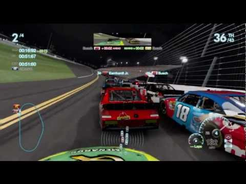 Daytona the Gauntlet Race Gameplay Career Mode Nascar The Game Inside Line |
