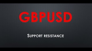ANALISA FOREX SUPPORT RESISTANCE DI GBP USD