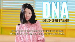 Video BTS (방탄소년단) - DNA | English Cover by JANNY download MP3, 3GP, MP4, WEBM, AVI, FLV Mei 2018